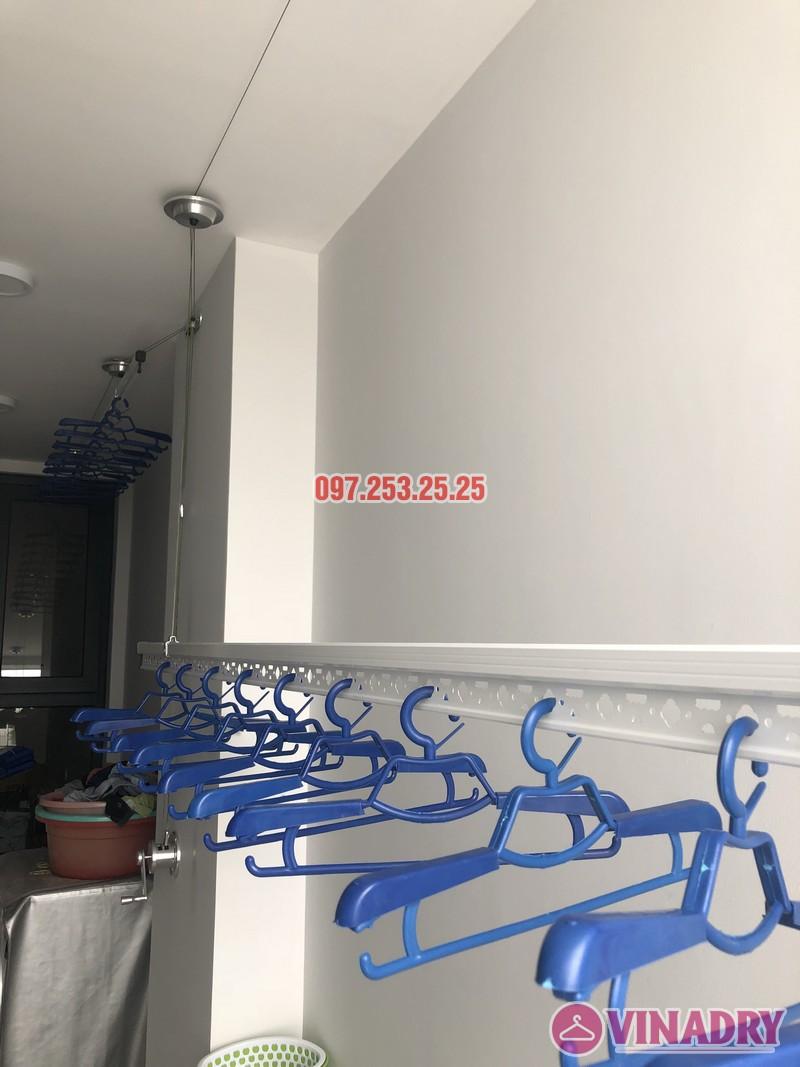 Lắp giàn phơi Long Biên nhà anh Yên, căn 310 tòa A chung cư Northern Diamond - 04