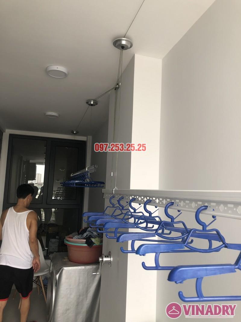 Lắp giàn phơi Long Biên nhà anh Yên, căn 310 tòa A chung cư Northern Diamond - 05