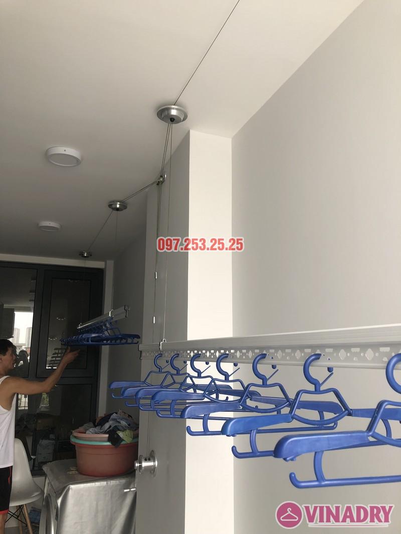 Lắp giàn phơi Long Biên nhà anh Yên, căn 310 tòa A chung cư Northern Diamond - 06