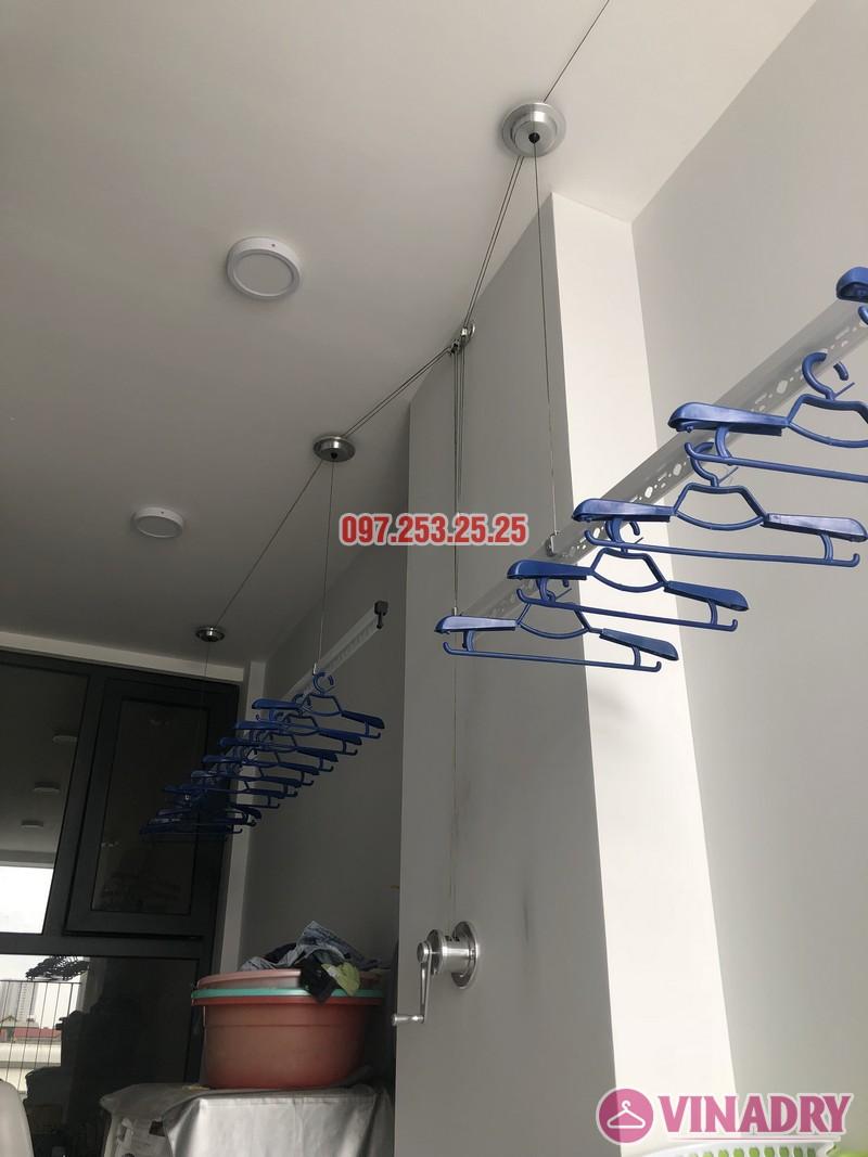 Lắp giàn phơi Long Biên nhà anh Yên, căn 310 tòa A chung cư Northern Diamond - 08