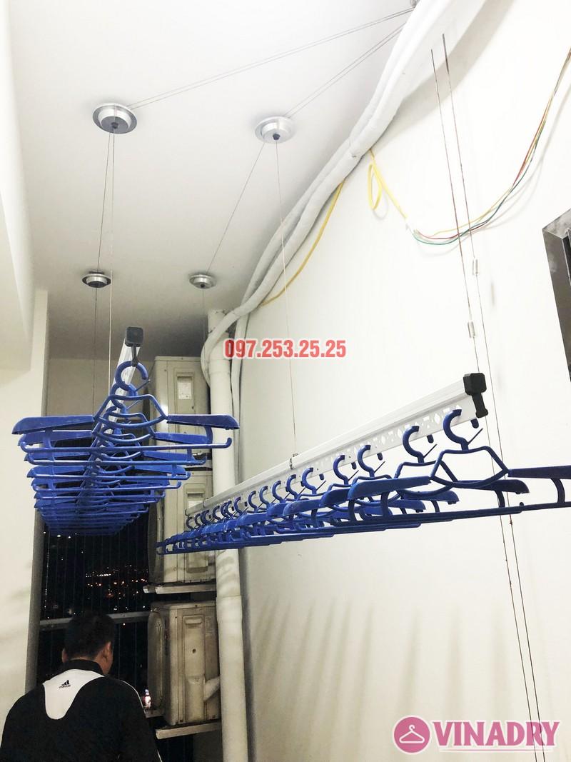 Lắp giàn phơi thông minh nhà anh Tuấn, căn 2106 tòa A, chung cư Đồng Phát Park view - 02