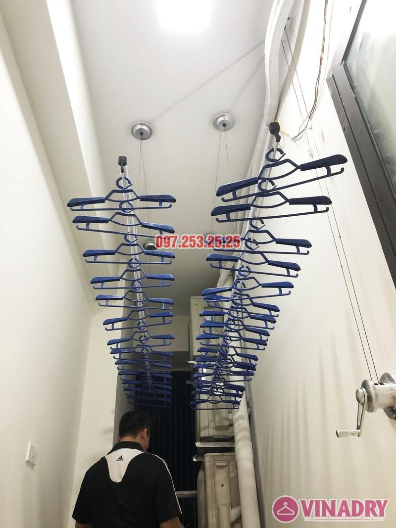 Lắp giàn phơi thông minh nhà anh Tuấn, căn 2106 tòa A, chung cư Đồng Phát Park view - 03