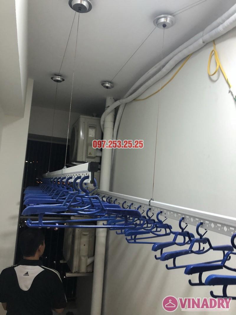 Lắp giàn phơi thông minh nhà anh Tuấn, căn 2106 tòa A, chung cư Đồng Phát Park view - 04