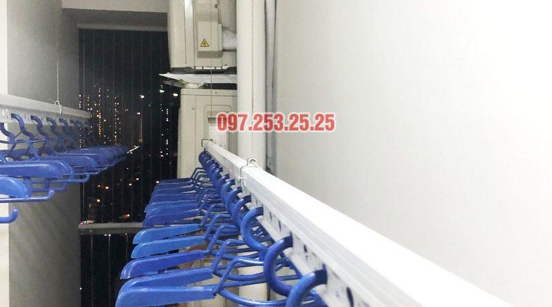 Lắp giàn phơi thông minh nhà anh Tuấn, căn 2106 tòa A, chung cư Đồng Phát Park view - 06