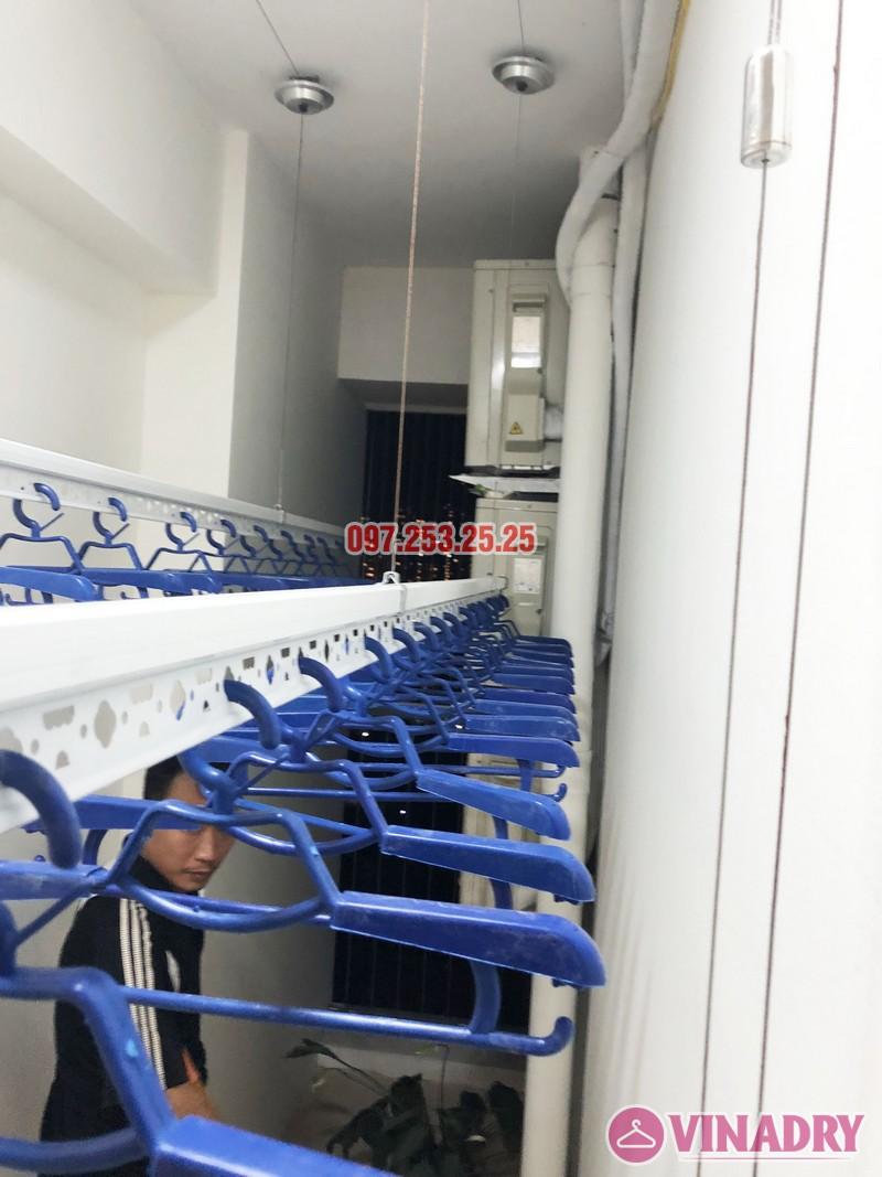Lắp giàn phơi thông minh nhà anh Tuấn, căn 2106 tòa A, chung cư Đồng Phát Park view - 07