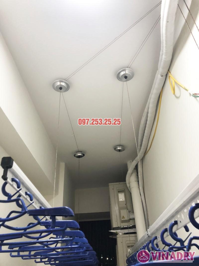 Lắp giàn phơi thông minh nhà anh Tuấn, căn 2106 tòa A, chung cư Đồng Phát Park view - 08