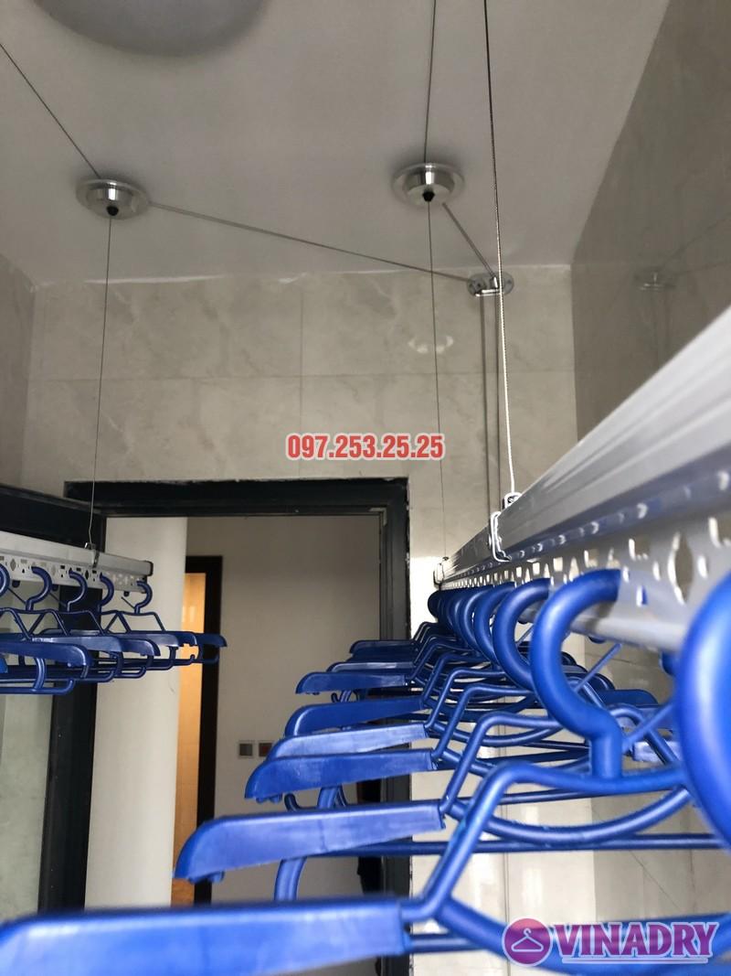 Lắp giàn phơi cho chung cư Green Star nhà anh Thiết, căn 2513 tòa 27A2 - 01