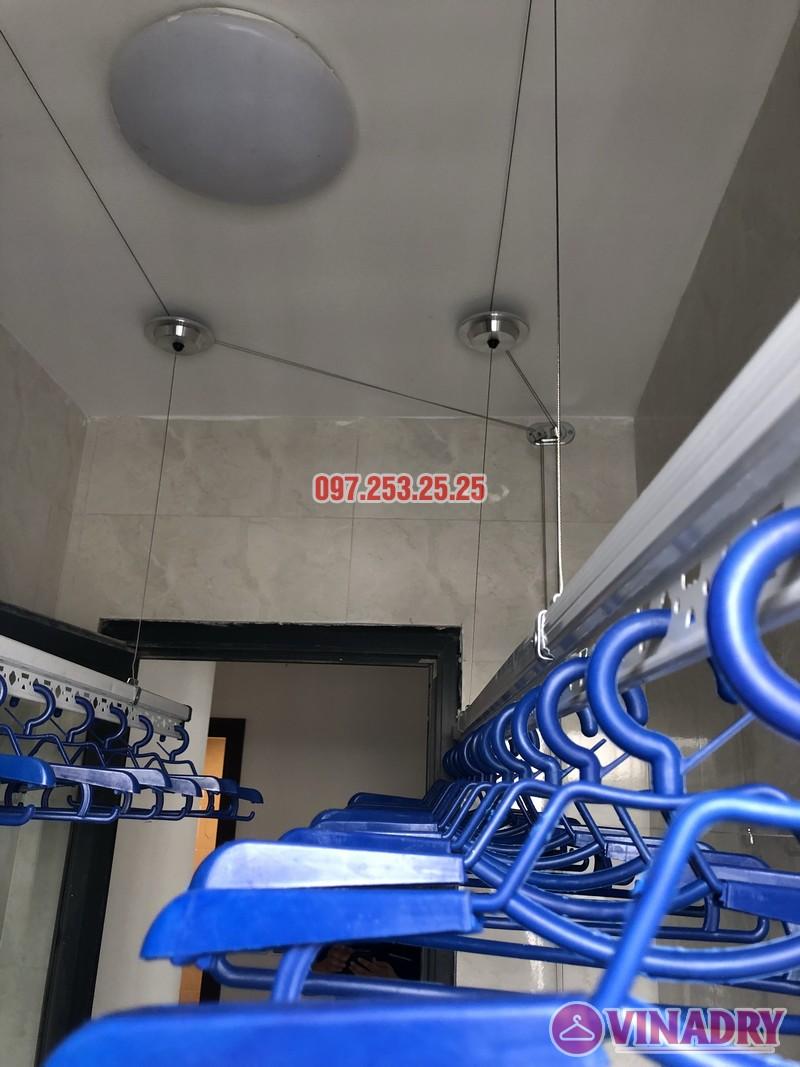 Lắp giàn phơi cho chung cư Green Star nhà anh Thiết, căn 2513 tòa 27A2 - 04
