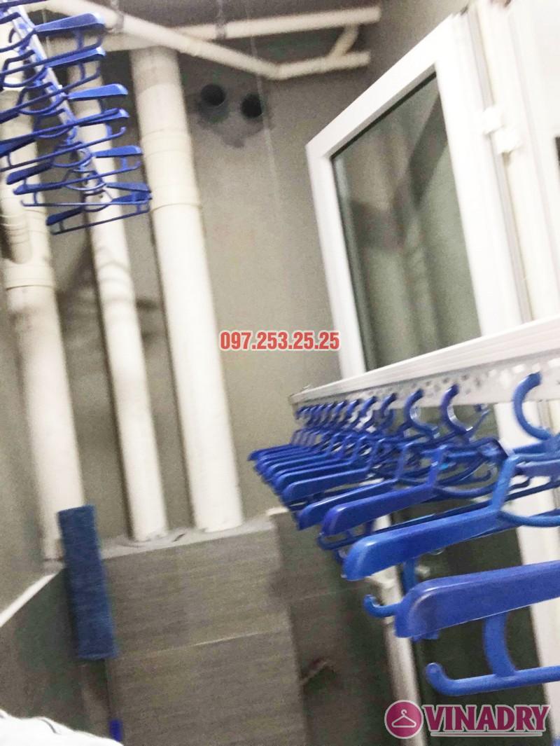 Lắp giàn phơi thông minh tại KĐT Mỗ Lao, Hà Đông nhà chị Kiều, chung cư TSQ - 03