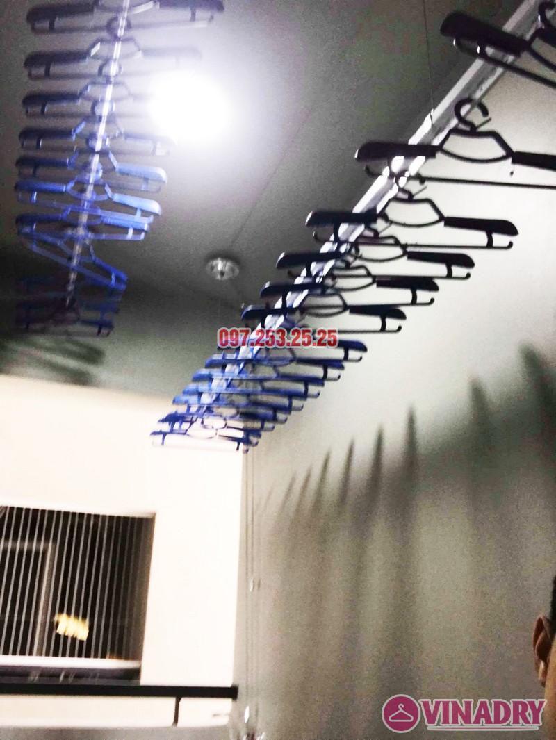 Lắp giàn phơi thông minh tại KĐT Mỗ Lao, Hà Đông nhà chị Kiều, chung cư TSQ - 04