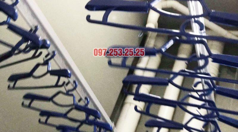Lắp giàn phơi thông minh tại KĐT Mỗ Lao, Hà Đông nhà chị Kiều, chung cư TSQ - 06