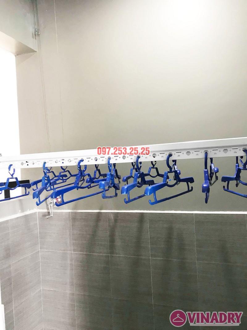 Lắp giàn phơi thông minh tại KĐT Mỗ Lao, Hà Đông nhà chị Kiều, chung cư TSQ - 07