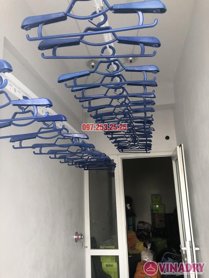 Lắp giàn phơi thông minh nhà chị Huế, căn 511 chung cư 622 Minh Khai, Hà Nội - 03
