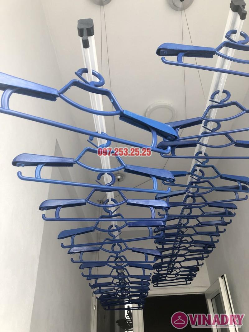 Lắp giàn phơi thông minh nhà chị Huế, căn 511 chung cư 622 Minh Khai, Hà Nội - 04