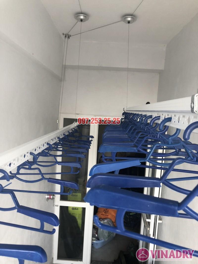 Lắp giàn phơi thông minh nhà chị Huế, căn 511 chung cư 622 Minh Khai, Hà Nội - 05