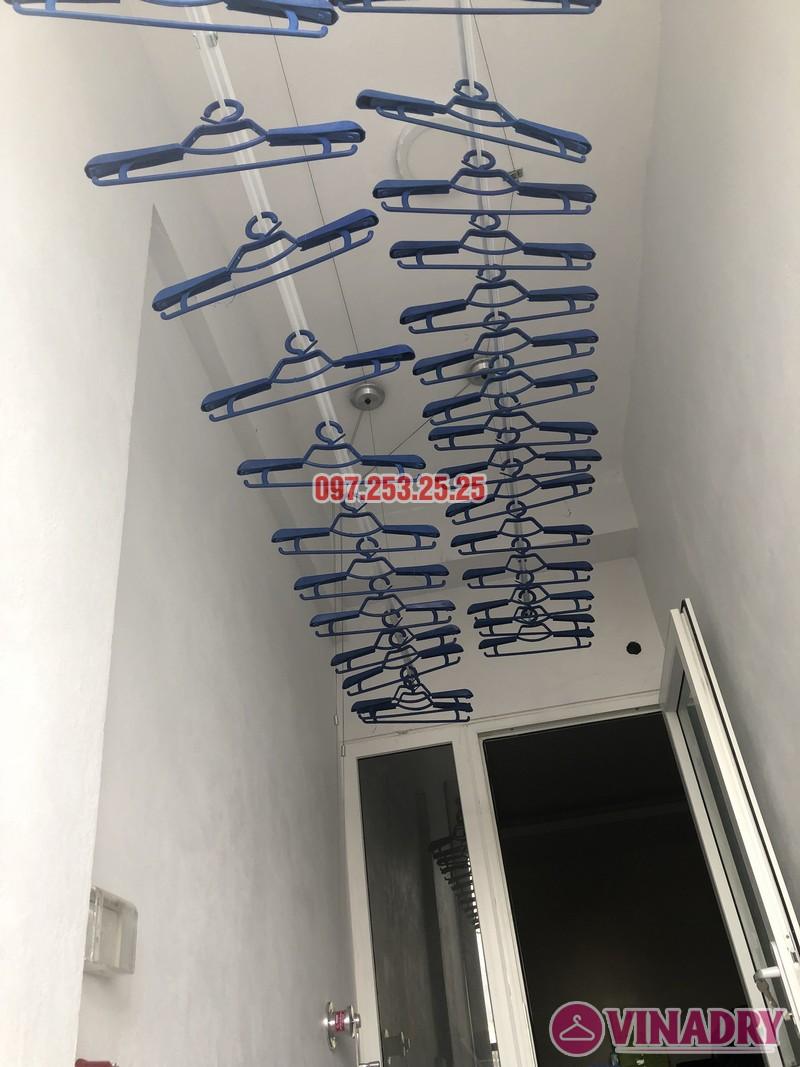 Lắp giàn phơi thông minh nhà chị Huế, căn 511 chung cư 622 Minh Khai, Hà Nội - 08