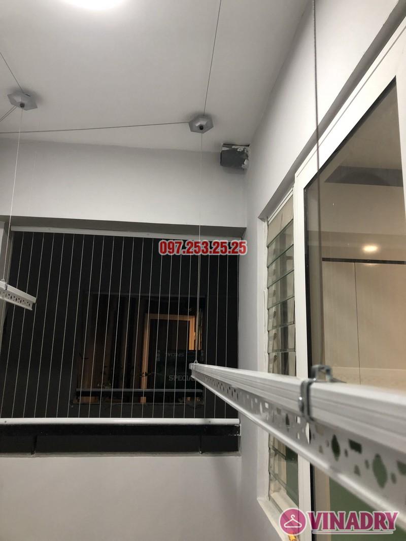 Lắp giàn phơi quần áo tại Hà Đông, nhà anh Tùng, căn 3302 tòa S1, chung cư Season Avenue - 01