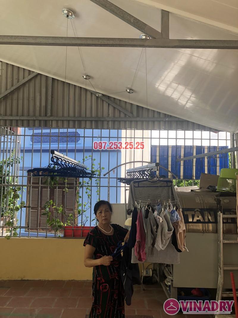 Lắp giàn phơi cho trần nhựa nhà cô Hiền, số 54 ngõ Đình Đông, Hai Bà Trưng, Hà Nội - 04