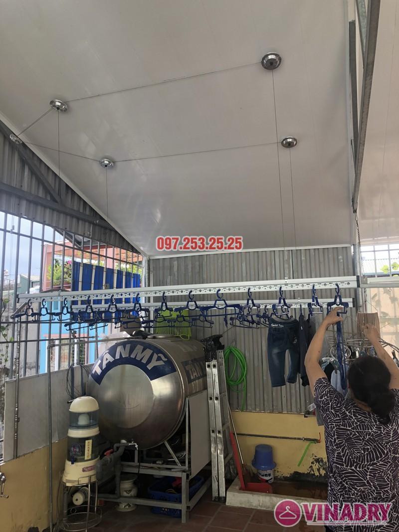 Lắp giàn phơi cho trần nhựa nhà cô Hiền, số 54 ngõ Đình Đông, Hai Bà Trưng, Hà Nội - 07