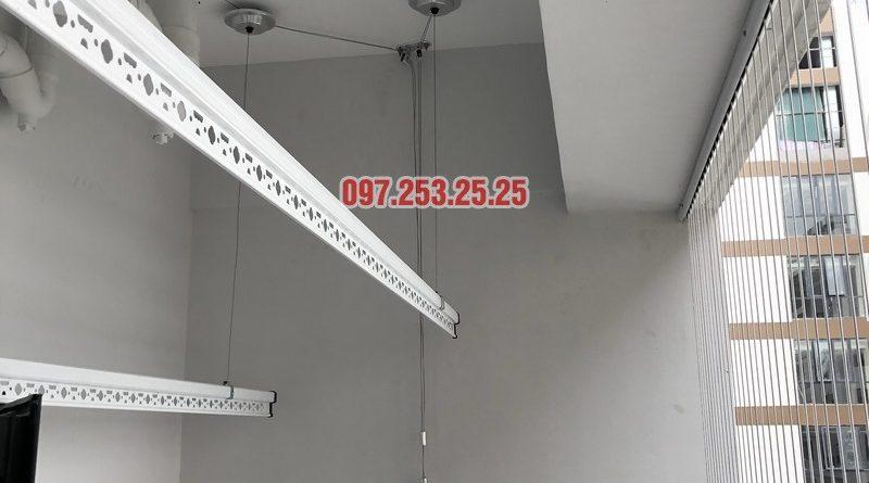 Lắp giàn phơi thông minh Hòa Phát nhà anh Tình, căn 3210, chung cư N01-T4 Ngoại Giao Đoàn - 06