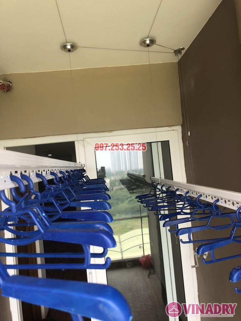 Lắp giàn phơi tại Cầu Giấy, nhà anh Đàn, căn 811, tòa CT4 Vimeco Nguyễn Chánh - 05