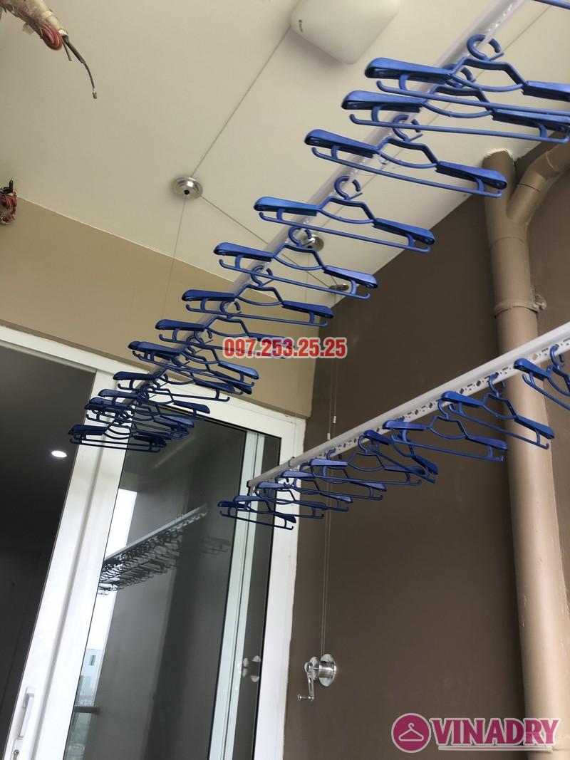 Lắp giàn phơi tại Cầu Giấy, nhà anh Đàn, căn 811, tòa CT4 Vimeco Nguyễn Chánh - 07