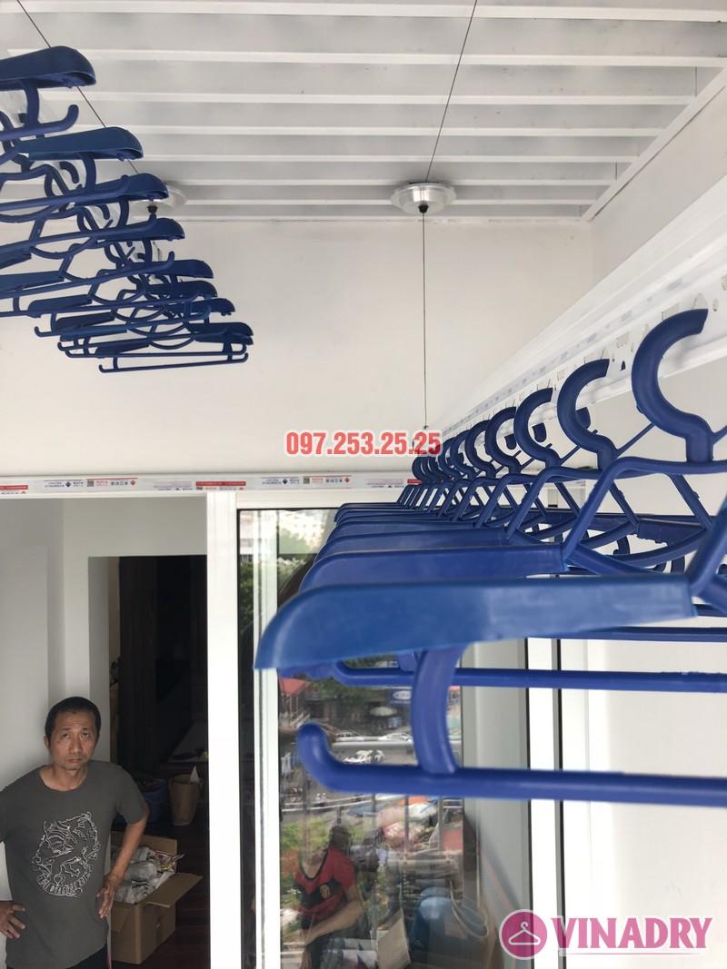 Lắp đặt giàn phơi thông minh Đống Đa nhà anh Thiện, căn 0605 chung cư 71 Nguyễn Chí Thanh - 03