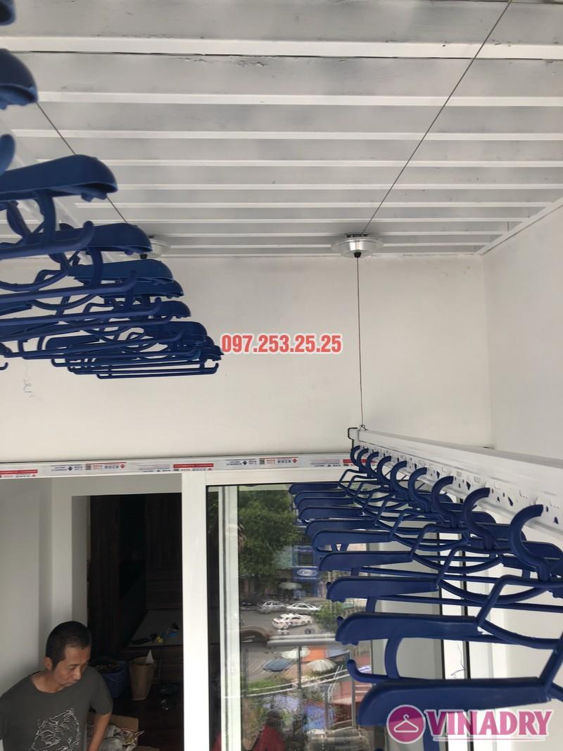Lắp đặt giàn phơi thông minh Đống Đa nhà anh Thiện, căn 0605 chung cư 71 Nguyễn Chí Thanh - 04