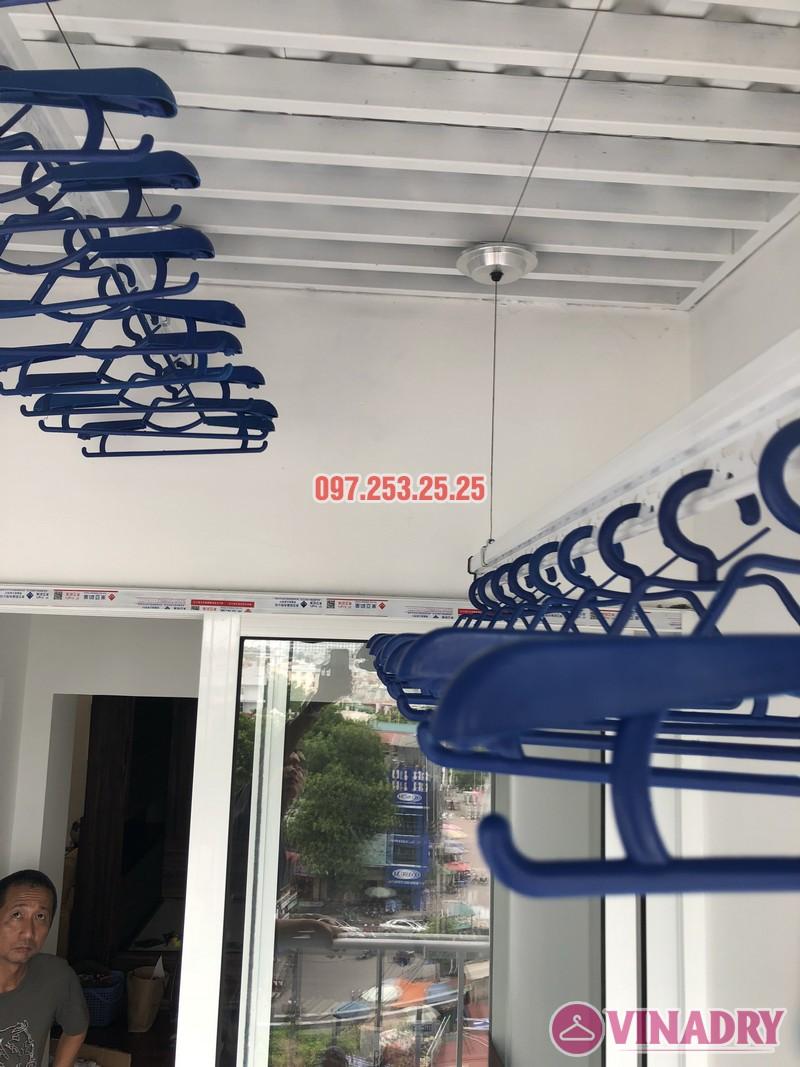 Lắp đặt giàn phơi thông minh Đống Đa nhà anh Thiện, căn 0605 chung cư 71 Nguyễn Chí Thanh - 06