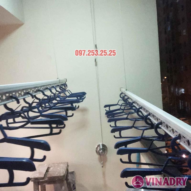 Lắp giàn phơi Hòa Phát nhà anh Chính, căn 403, tòa HH2A, Đơn Nguyên A, ngõ 562 Nguyễn Văn Cừ - 01