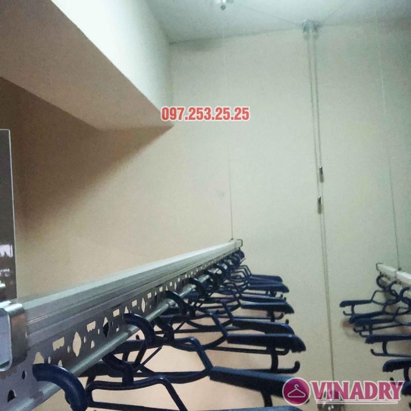 Lắp giàn phơi Hòa Phát nhà anh Chính, căn 403, tòa HH2A, Đơn Nguyên A, ngõ 562 Nguyễn Văn Cừ - 04