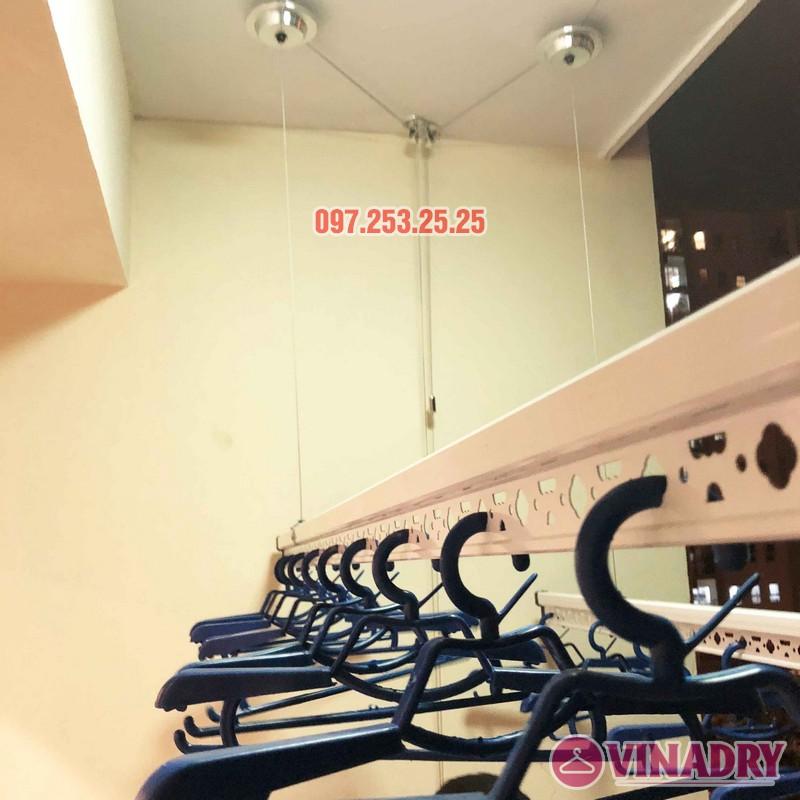 Lắp giàn phơi Hòa Phát nhà anh Chính, căn 403, tòa HH2A, Đơn Nguyên A, ngõ 562 Nguyễn Văn Cừ - 07