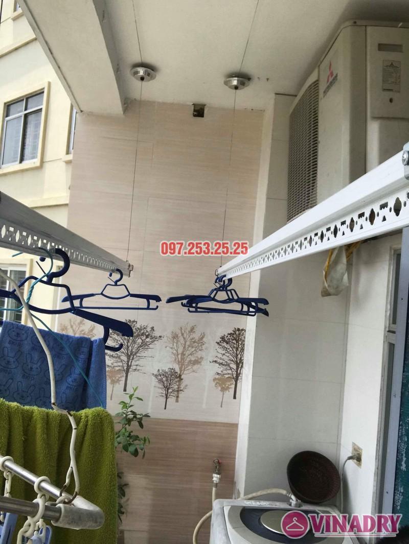 Lắp giàn phơi tại Nam Từ Liêm nhà chị Hiền, chung cư CT5 KĐT Mỹ Đình 2 - 03