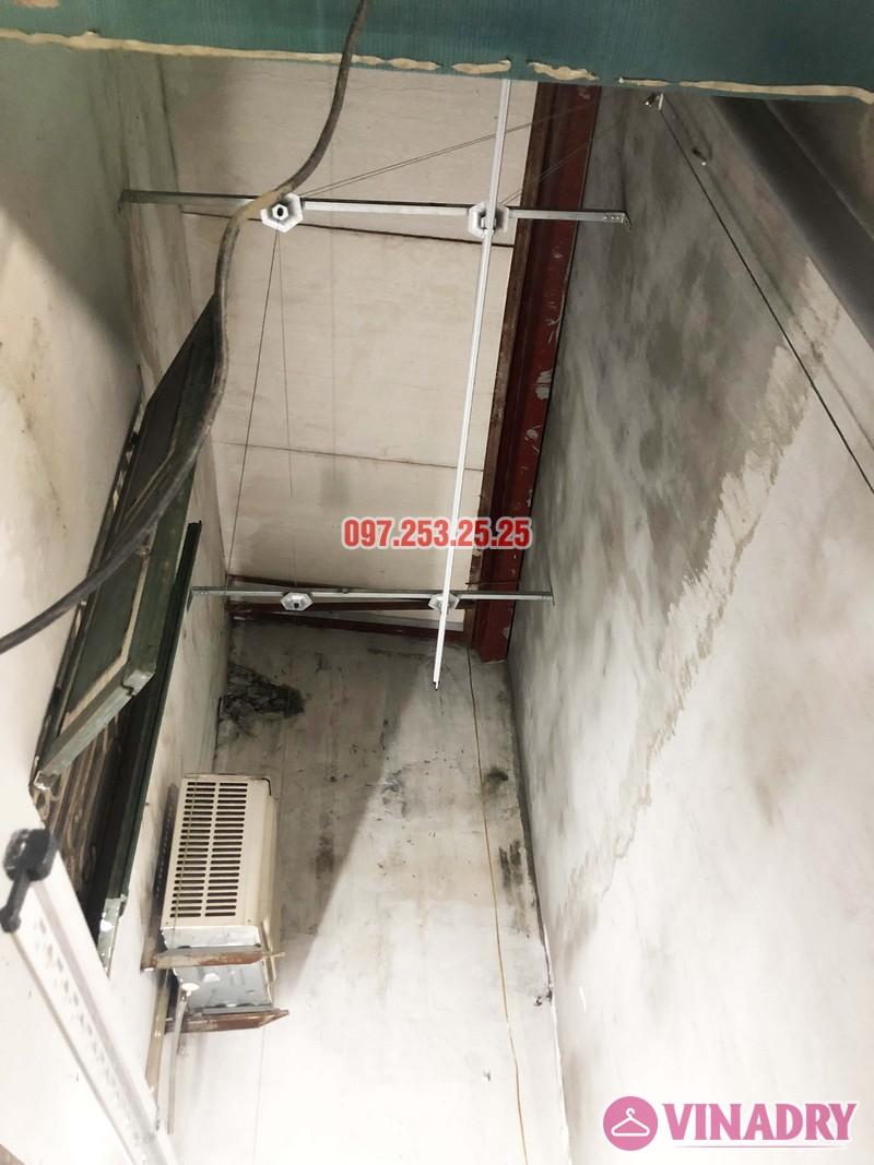 Lắp giàn phơi tại Thanh Xuân nhà anh Tài, ngõ 108 Bùi Xương Trạch - 01