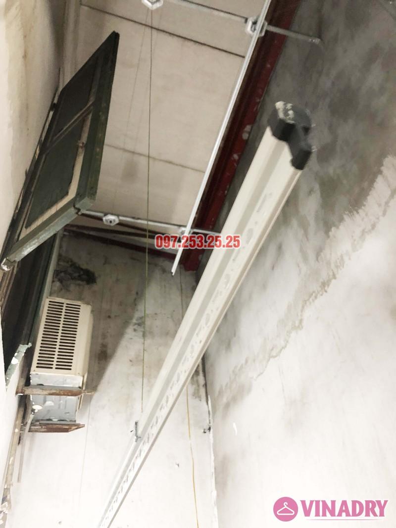 Lắp giàn phơi tại Thanh Xuân nhà anh Tài, ngõ 108 Bùi Xương Trạch - 02