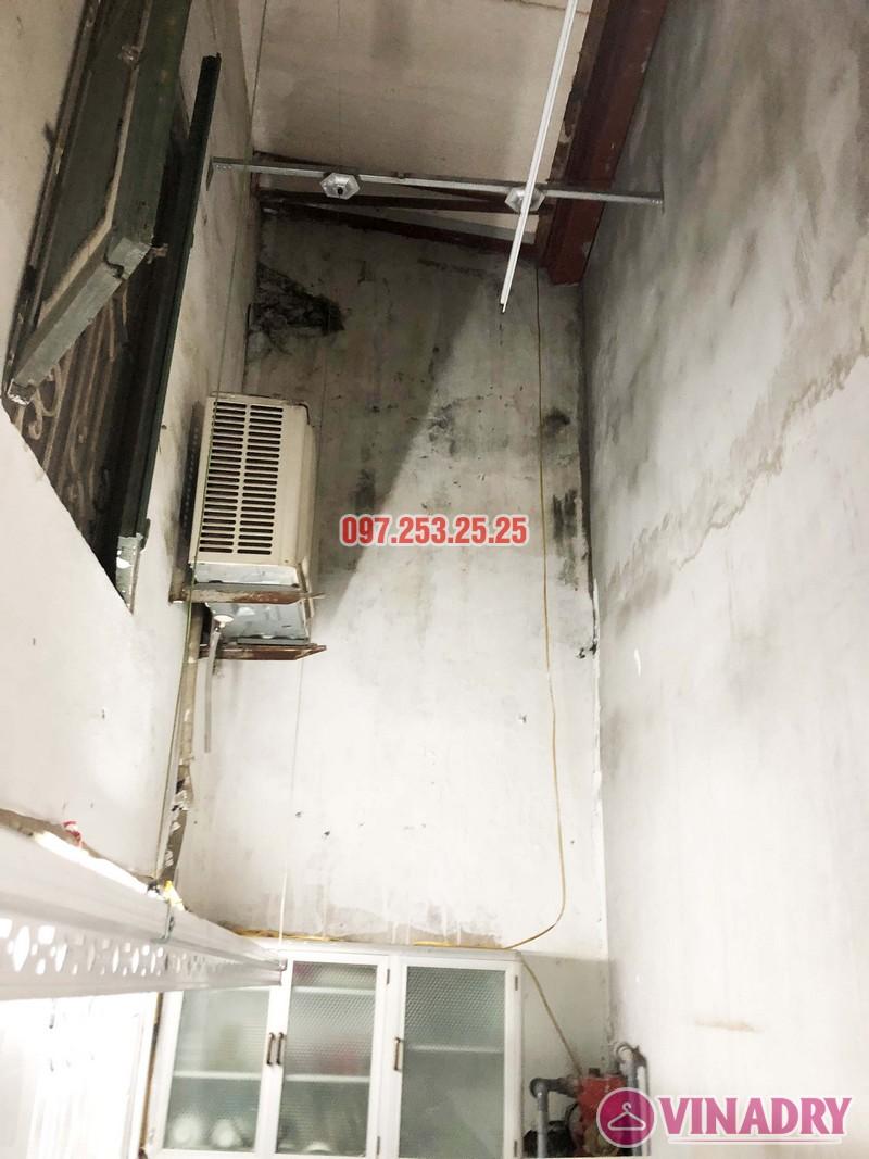 Lắp giàn phơi tại Thanh Xuân nhà anh Tài, ngõ 108 Bùi Xương Trạch - 03