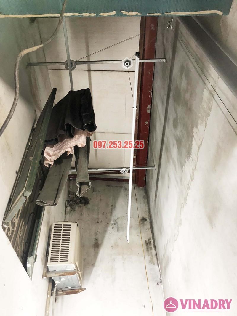 Lắp giàn phơi tại Thanh Xuân nhà anh Tài, ngõ 108 Bùi Xương Trạch - 05