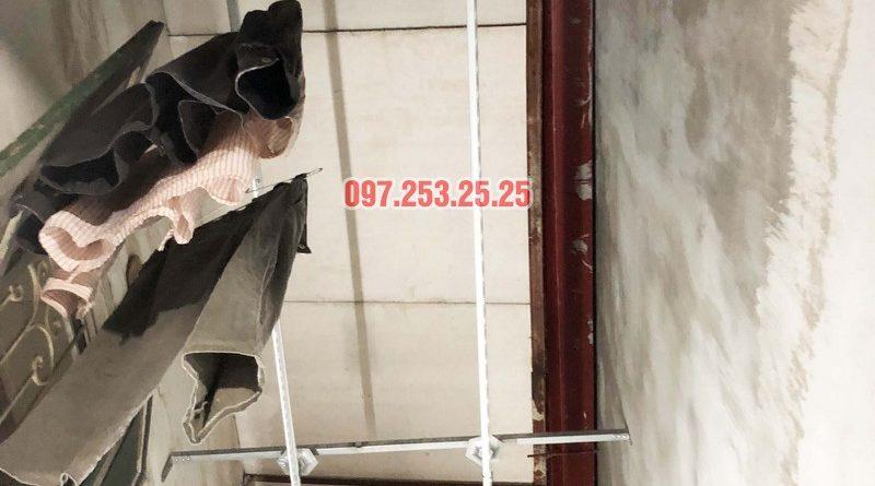 Lắp giàn phơi tại Thanh Xuân nhà anh Tài, ngõ 108 Bùi Xương Trạch - 06