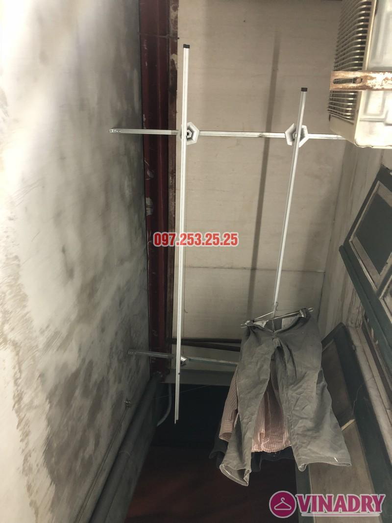 Lắp giàn phơi tại Thanh Xuân nhà anh Tài, ngõ 108 Bùi Xương Trạch - 08