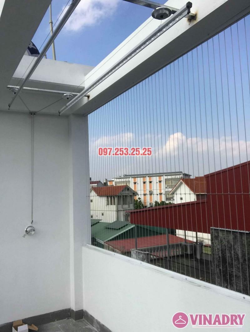 Lắp giàn phơi quần áo Hòa Phát 701 nhà anh Tiến, ngõ 42 Thịnh Liệt, Hoàng Mai, Hà Nội - 03
