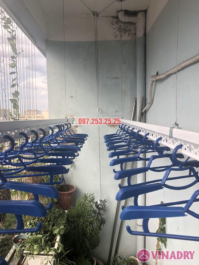 Lắp giàn phơi tại Cầu Giấy bộ 701 nhà chị Minh, căn 901 tòa B chung cư bộ kế hoạch và đầu tư - 01