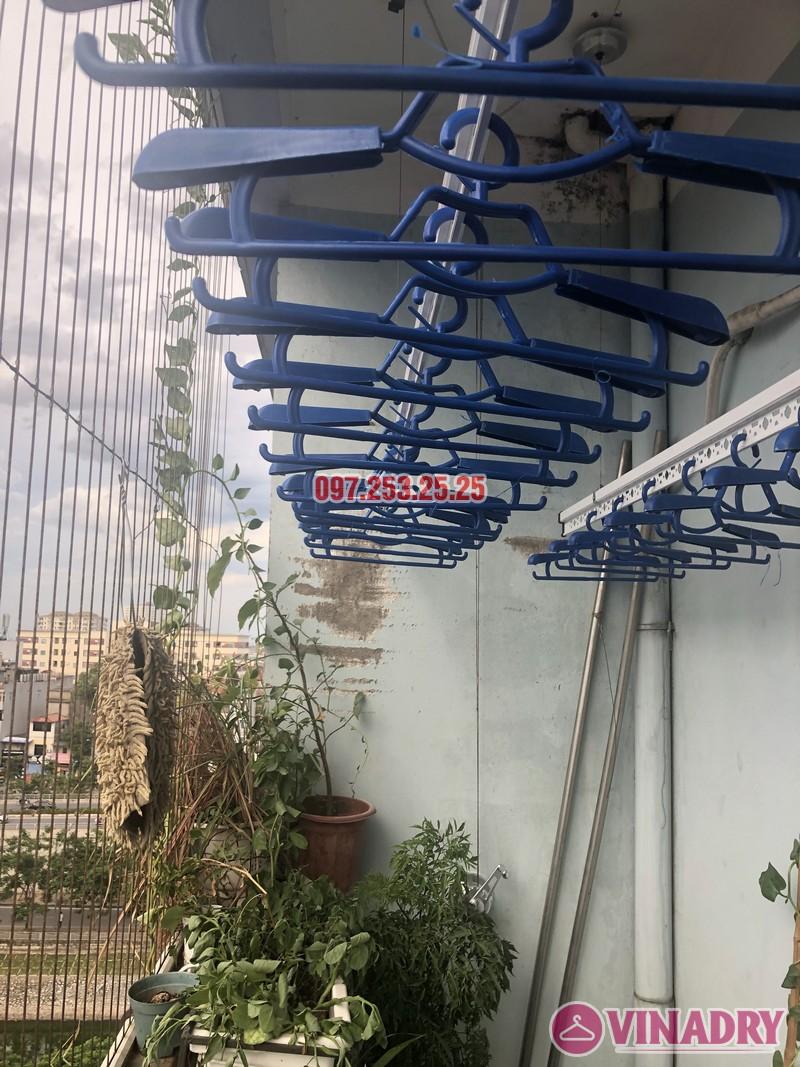 Lắp giàn phơi tại Cầu Giấy bộ 701 nhà chị Minh, căn 901 tòa B chung cư bộ kế hoạch và đầu tư - 02