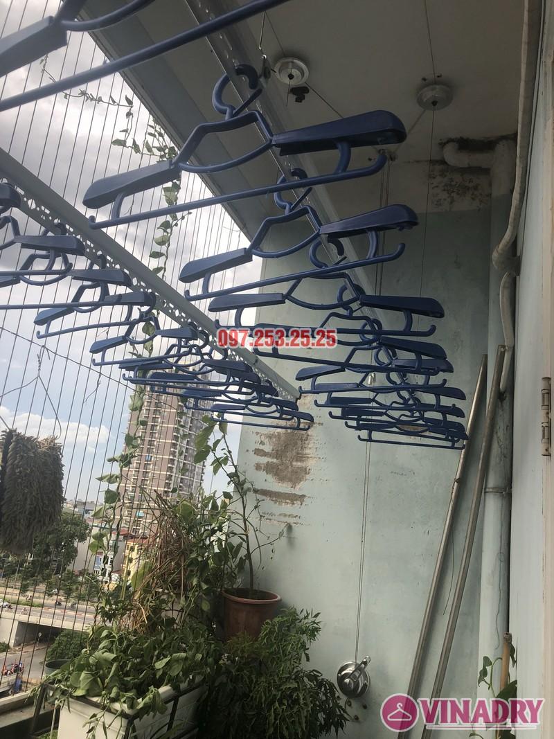 Lắp giàn phơi tại Cầu Giấy bộ 701 nhà chị Minh, căn 901 tòa B chung cư bộ kế hoạch và đầu tư - 05