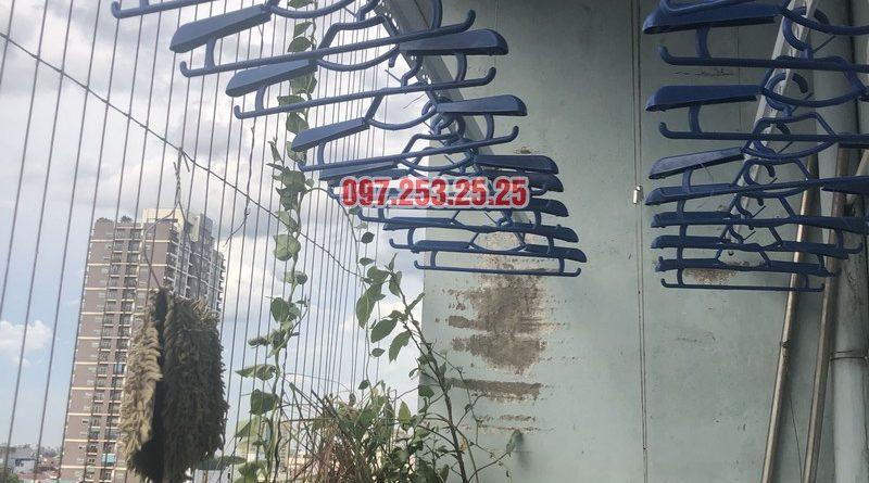 Lắp giàn phơi tại Cầu Giấy bộ 701 nhà chị Minh, căn 901 tòa B chung cư bộ kế hoạch và đầu tư - 06