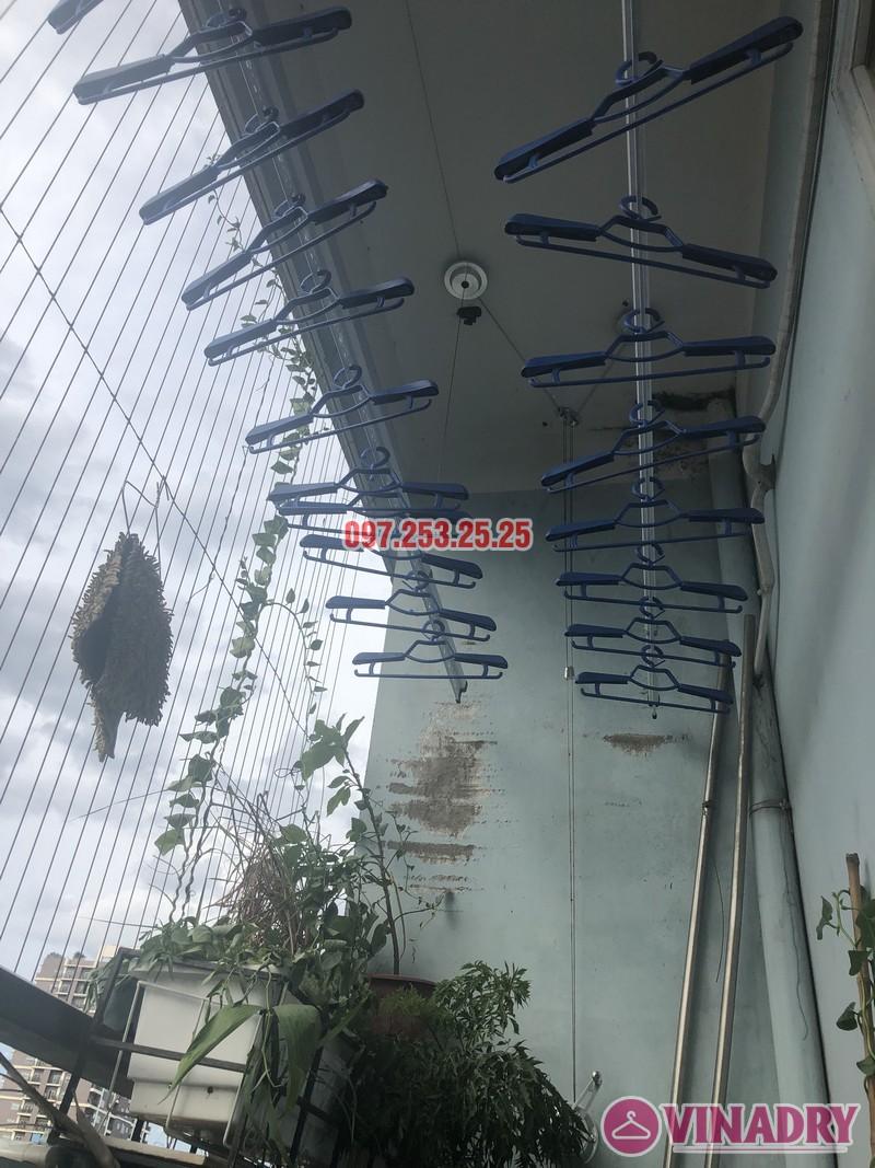 Lắp giàn phơi tại Cầu Giấy bộ 701 nhà chị Minh, căn 901 tòa B chung cư bộ kế hoạch và đầu tư - 07