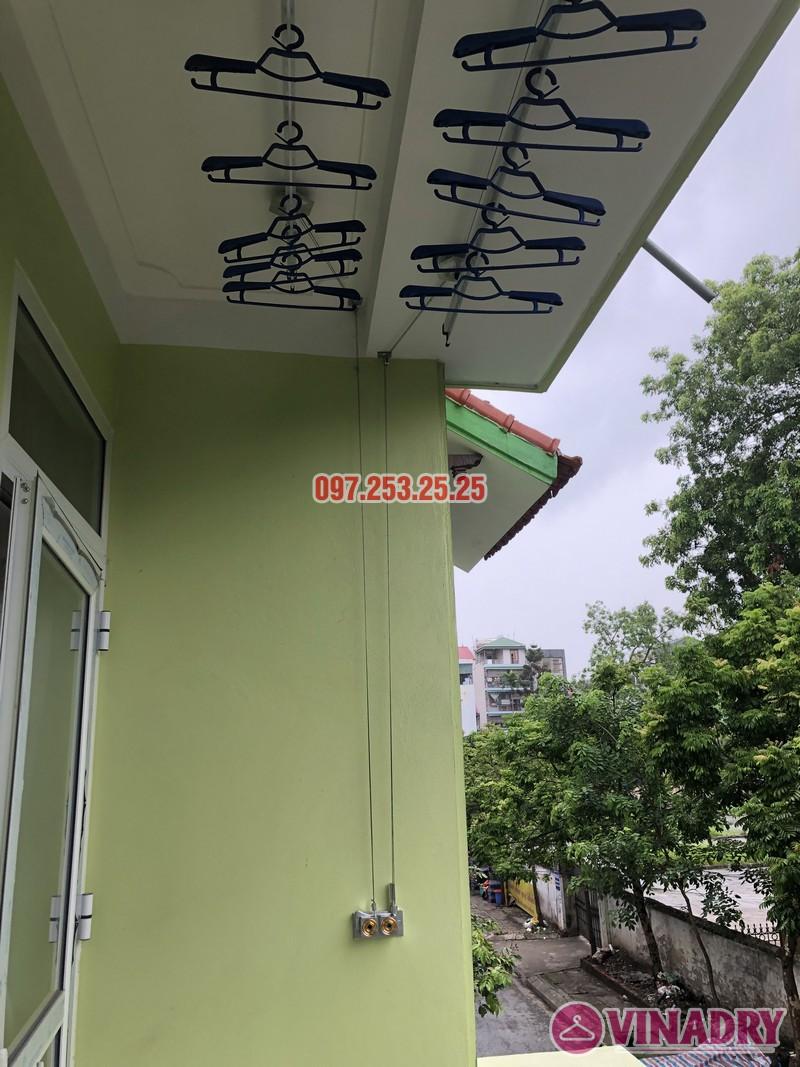 Lắp giàn phơi quần áo tại Gia Lâm, Hà Nội nhà anh Cảnh, số 40, ngõ 46 Trâu Qùy - 03