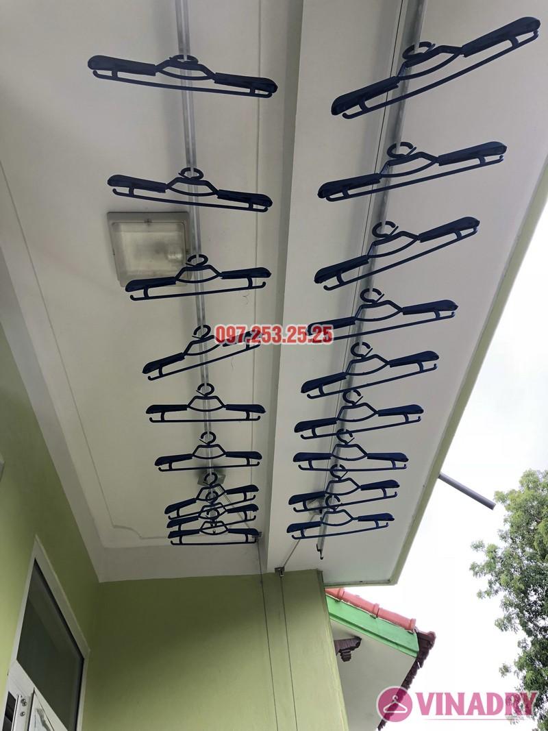 Lắp giàn phơi quần áo tại Gia Lâm, Hà Nội nhà anh Cảnh, số 40, ngõ 46 Trâu Qùy - 04
