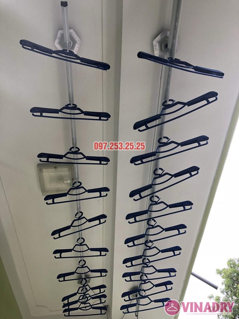 Lắp giàn phơi quần áo tại Gia Lâm, Hà Nội nhà anh Cảnh, số 40, ngõ 46 Trâu Qùy - 05