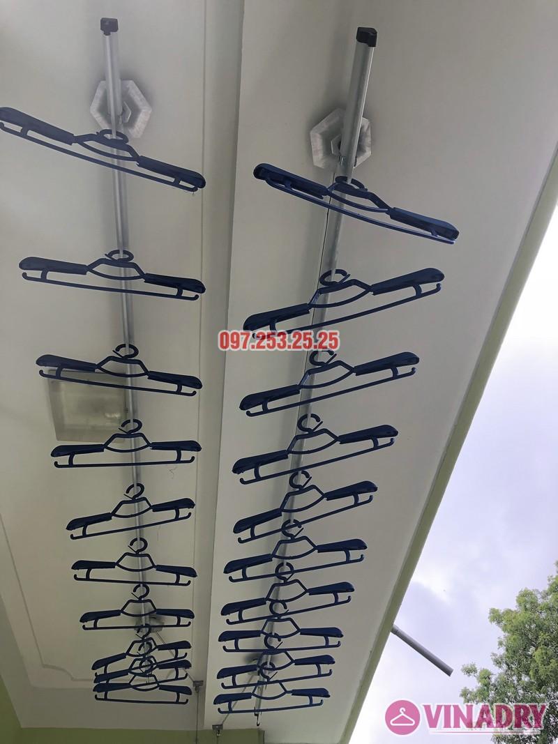 Lắp giàn phơi quần áo tại Gia Lâm, Hà Nội nhà anh Cảnh, số 40, ngõ 46 Trâu Qùy - 06