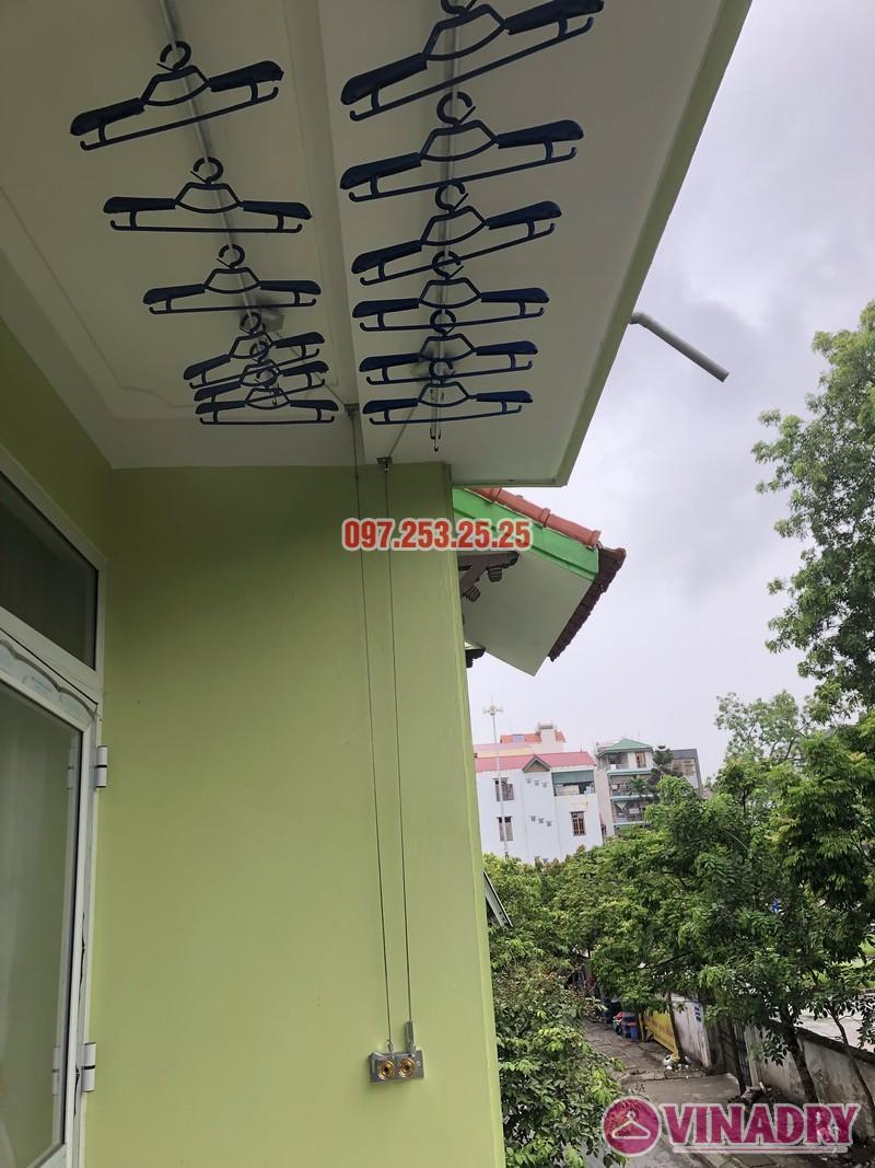 Lắp giàn phơi quần áo tại Gia Lâm, Hà Nội nhà anh Cảnh, số 40, ngõ 46 Trâu Qùy - 07